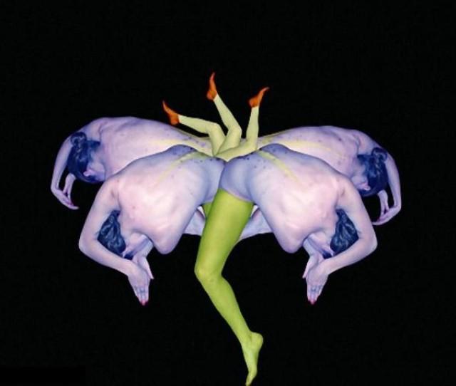 Le corps humain en fleurs * G_1935
