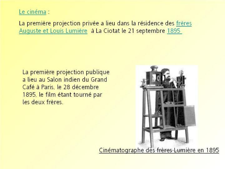 L´histoire des inventions françaises * G_2045