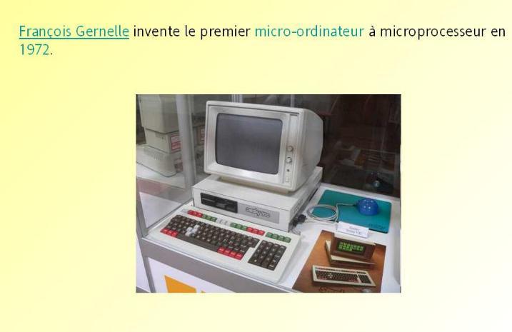 L´histoire des inventions françaises * G_2537