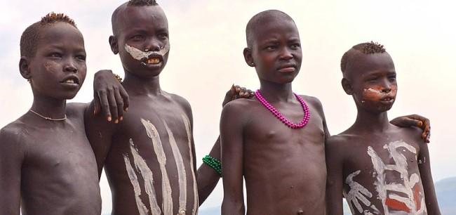 Les tribus de l´Omo * Omo10