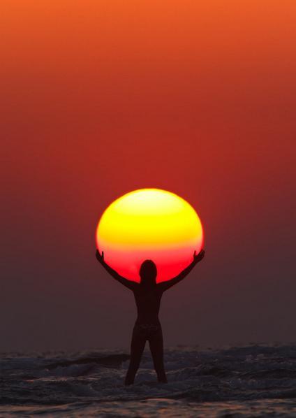 Couchers de soleil.... magnifiques !!! S_2410