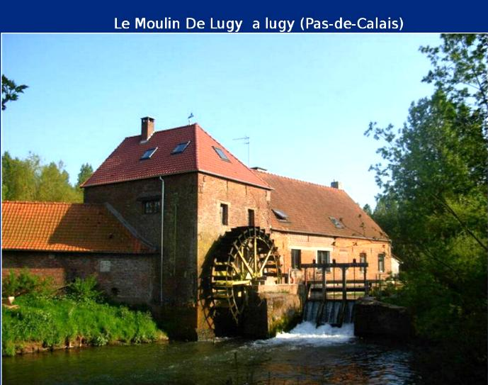 Les moulins de France * X0810