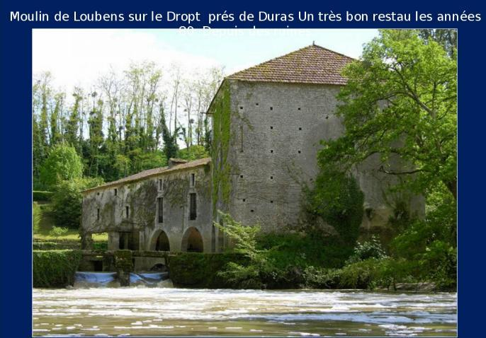 Les moulins de France * X1012