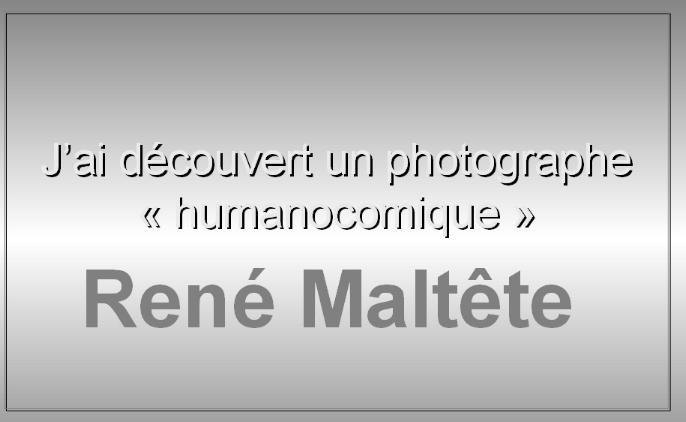 Photos insolites de René Maltête * X_01101