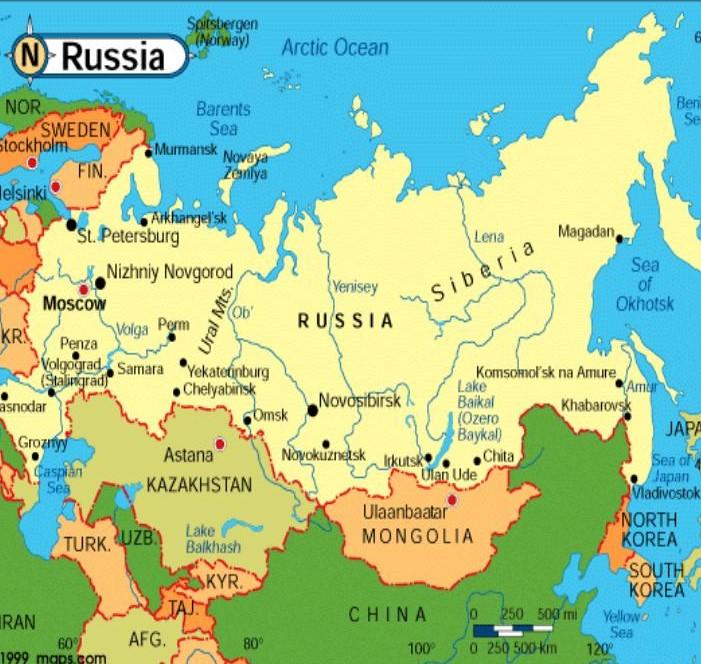 La Russie * X_01114