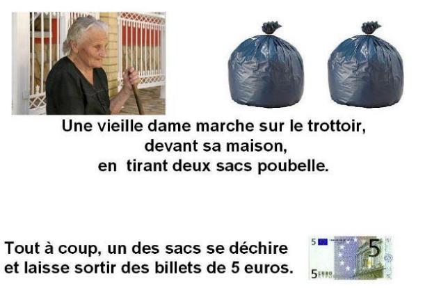 La vieille dame et ses sacs poubelle X_01141