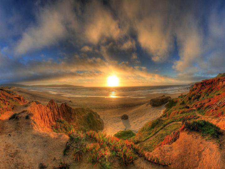 Couchers de soleil - magnifique !!! * X_04100