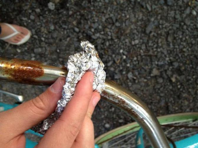 Usages étonnants des feuilles d'aluminium * X_0546