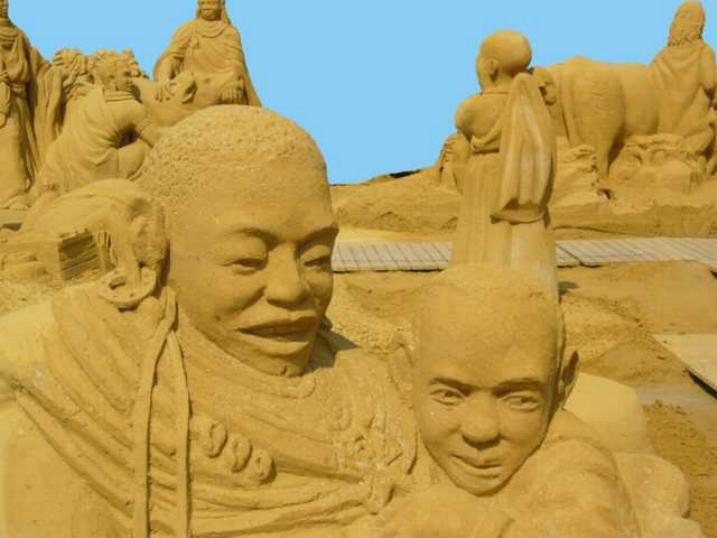 Statues de sable * X_0647