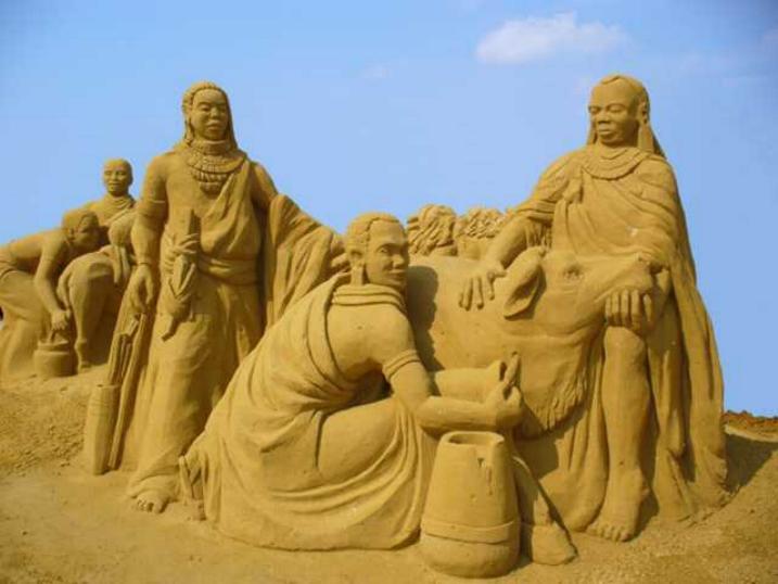 Statues de sable * X_0846