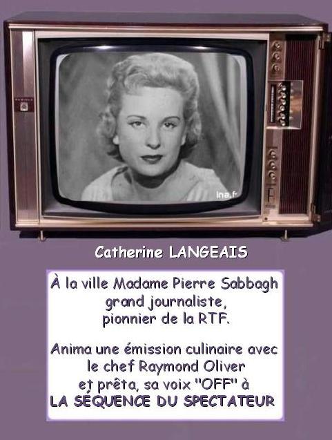 Les premiers pas de la télévision française * X_0856