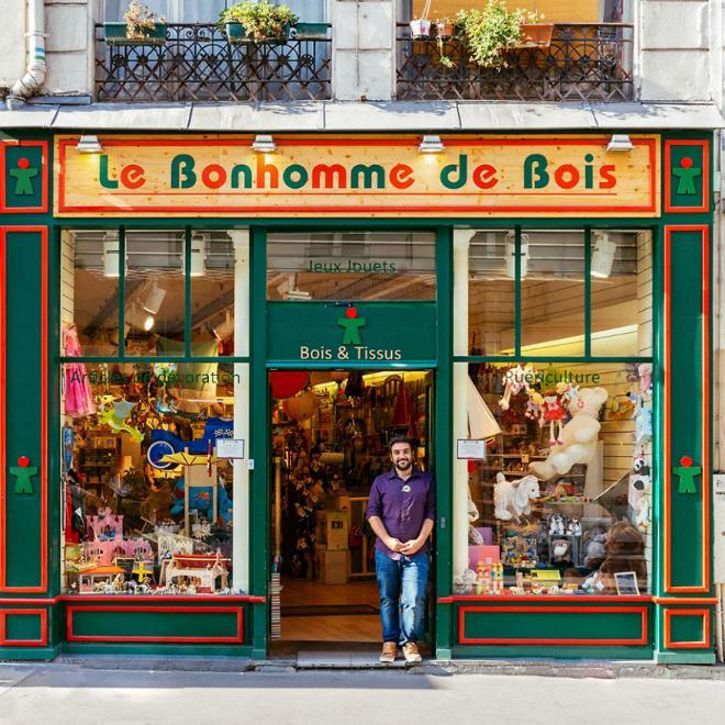 Le charme discret des vieilles boutiques de Paris..* X_08_y10