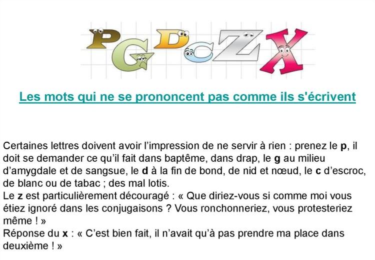 Cocasseries de la langue française * X_09150