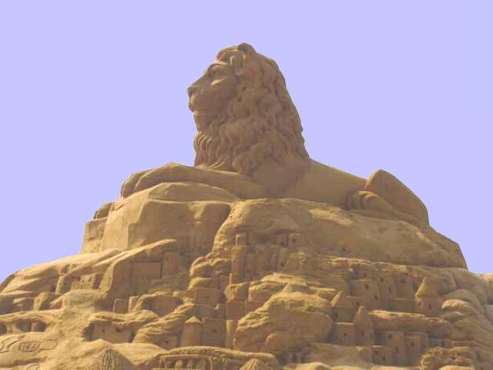 Statues de sable * X_1042