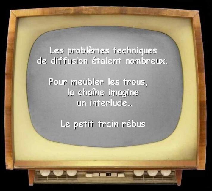 Les premiers pas de la télévision française * X_1051