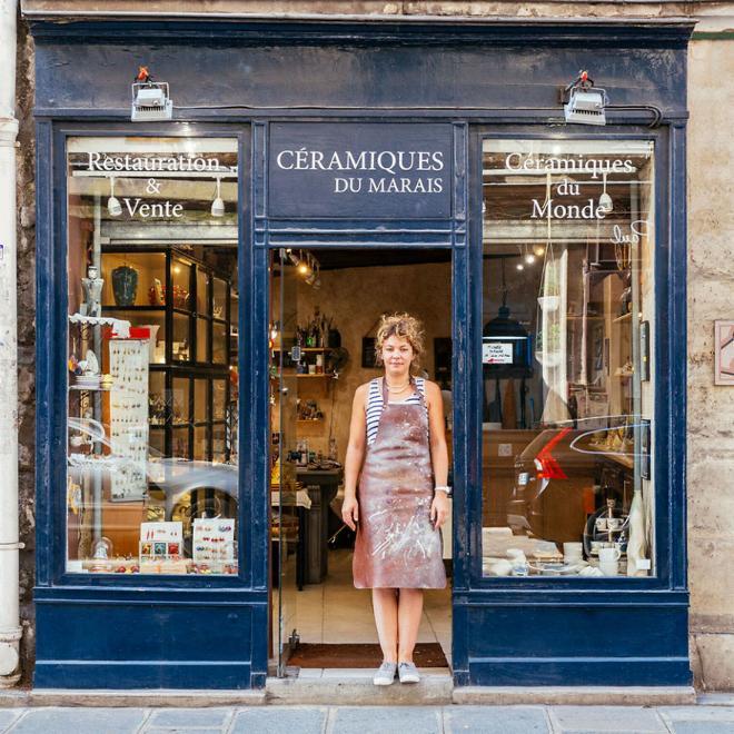 Le charme discret des vieilles boutiques de Paris..* X_10_d10