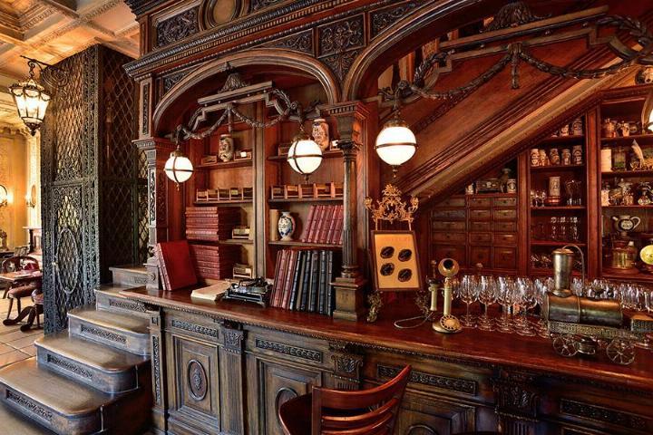 Le Café Pushkin * X_1233