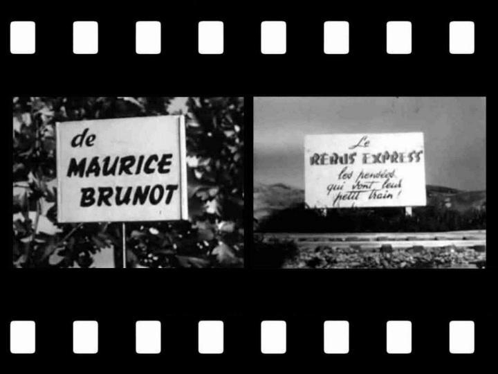 Les premiers pas de la télévision française * X_1251