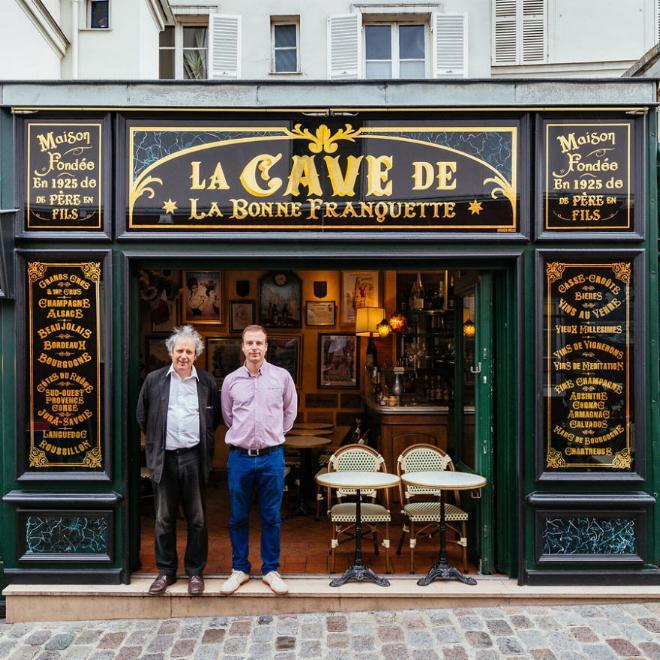 Le charme discret des vieilles boutiques de Paris..* X_13_l10