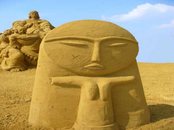 Statues de sable * X_1538
