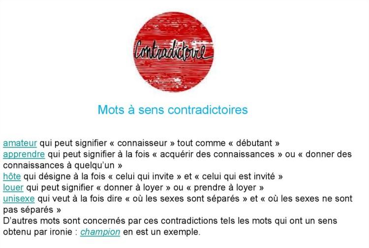 Cocasseries de la langue française * X_16125