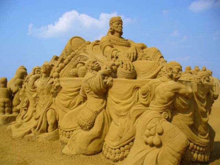 Statues de sable * X_1639