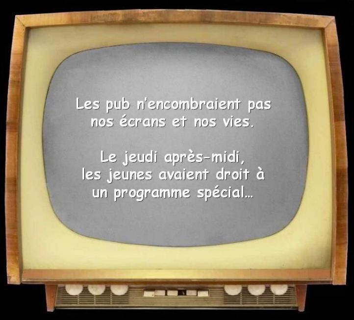 Les premiers pas de la télévision française * X_1646