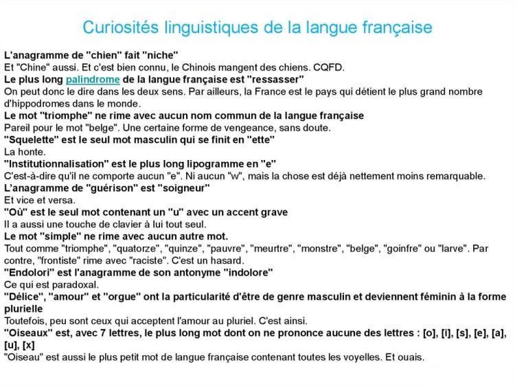 Cocasseries de la langue française * X_18120