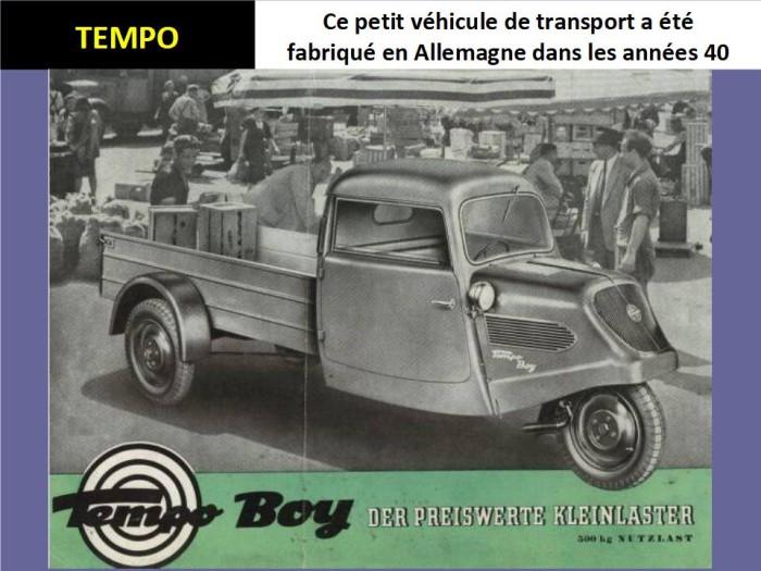 Des voitures à trois roues X_19131
