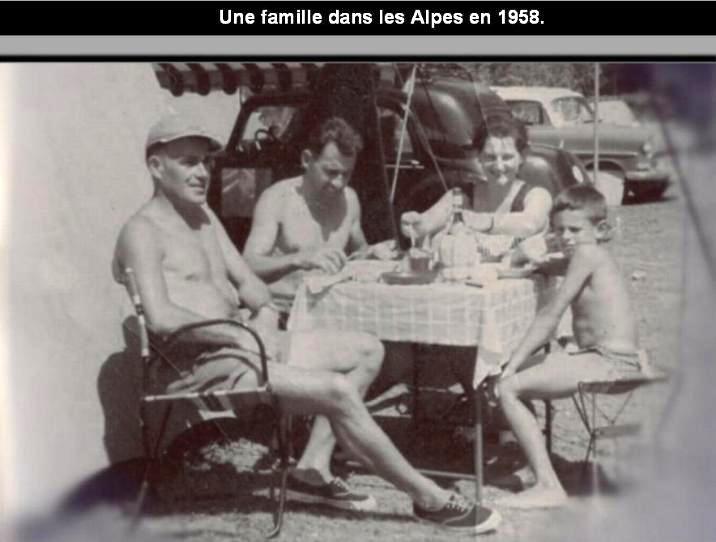 Vacances d´autrefois avec une surprise à la fin * X_1942