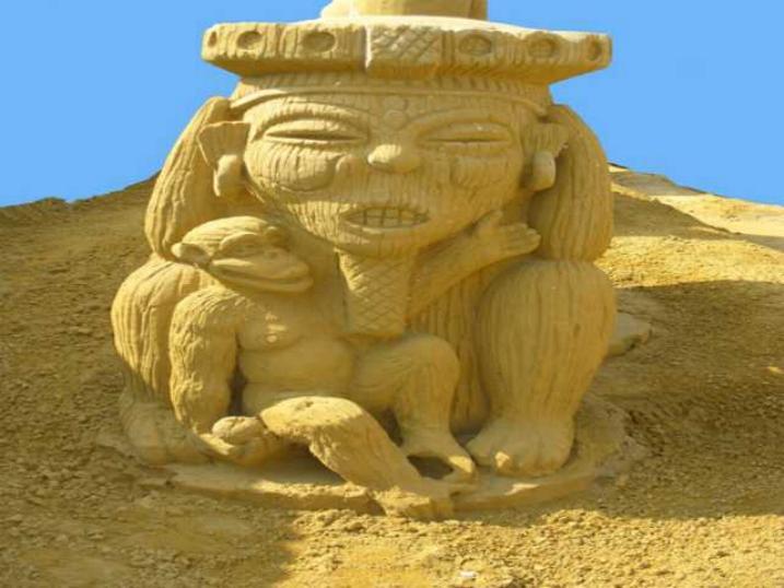 Statues de sable * X_2034