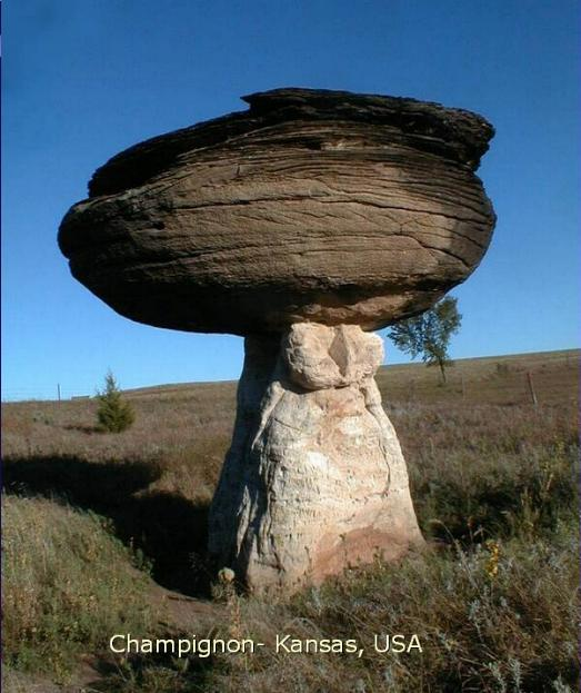 Des rochers surprenants * X_2066