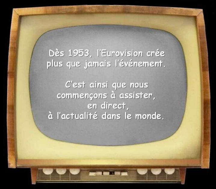 Les premiers pas de la télévision française * X_2138