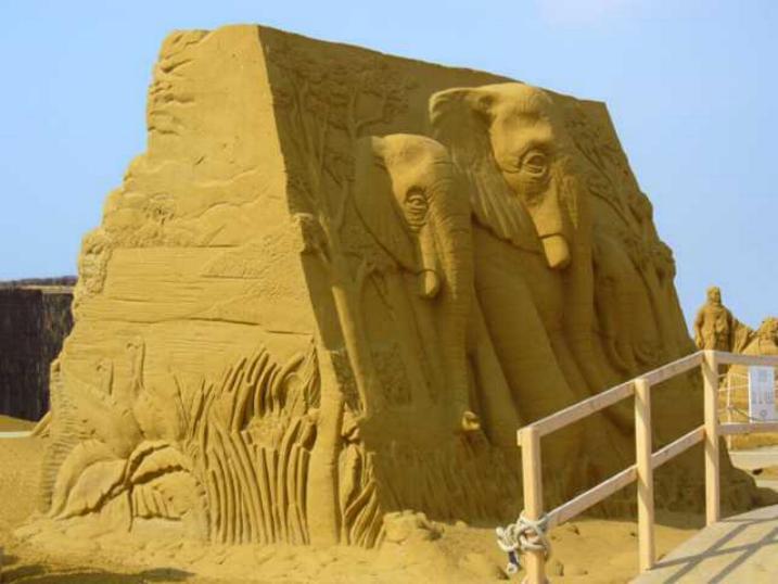 Statues de sable * X_2231