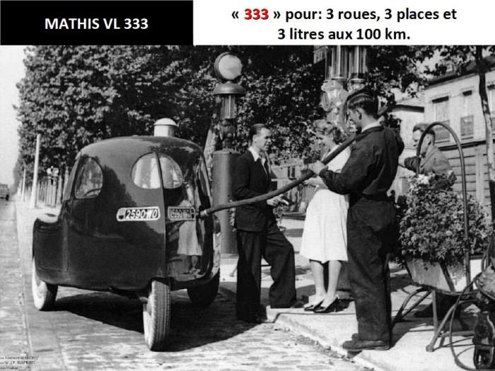 Des voitures à trois roues X_23119