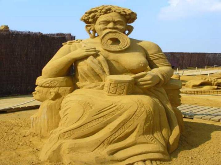 Statues de sable * X_2433