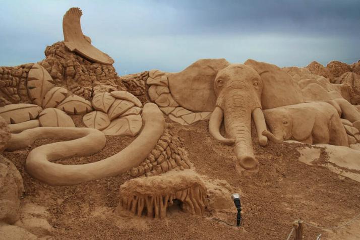 Statues de sable * - Page 3 X_5119