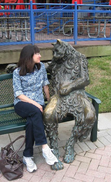 Amusements avec des statues * - Page 3 X_5414