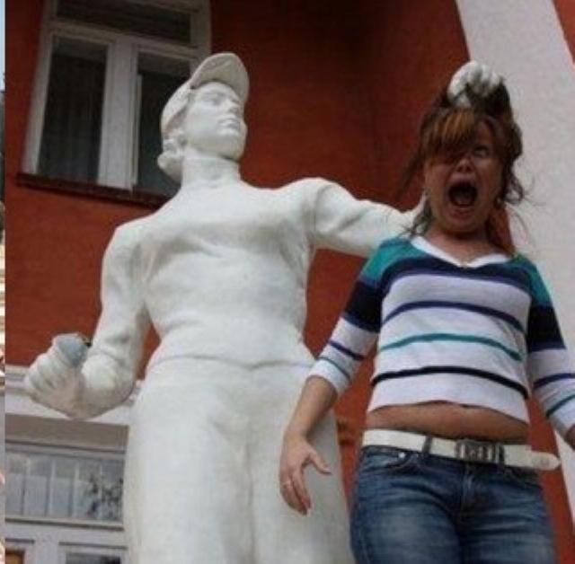 Amusements avec des statues * - Page 3 X_6014