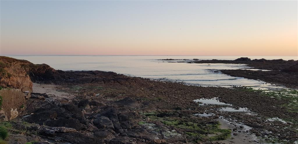 Au moment du coucher du soleil aux Sables d'Olonne 2020-053