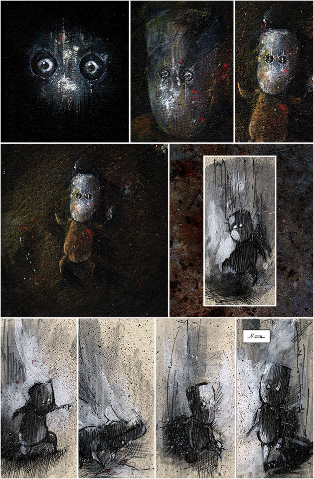 Les décors impressionnants en peinture aquarelle du jeu CANDLE 10cdcc10