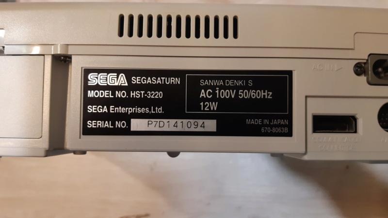 (vds)HORS SERVICE Saturn japonaise blanche  16139215