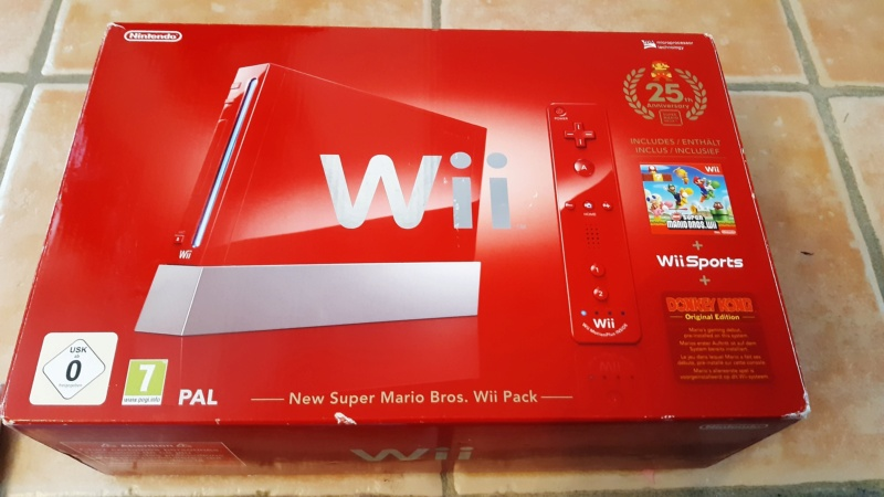 (EST) Pack console wii rouge edition anniversaire  20210244