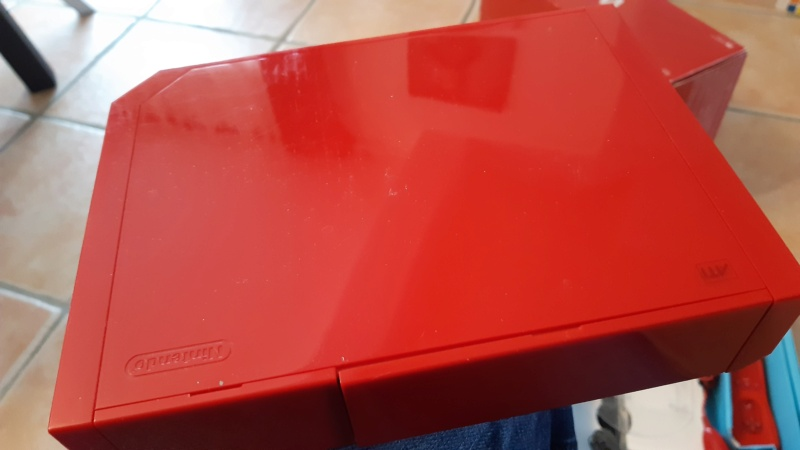 (EST) Pack console wii rouge edition anniversaire  20210249