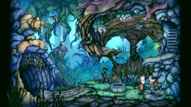 Les décors impressionnants en peinture aquarelle du jeu CANDLE 28620511