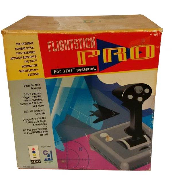 Le flightstick 3do de chez CHproducts  et les jeux compatibles ! 3do-fl11