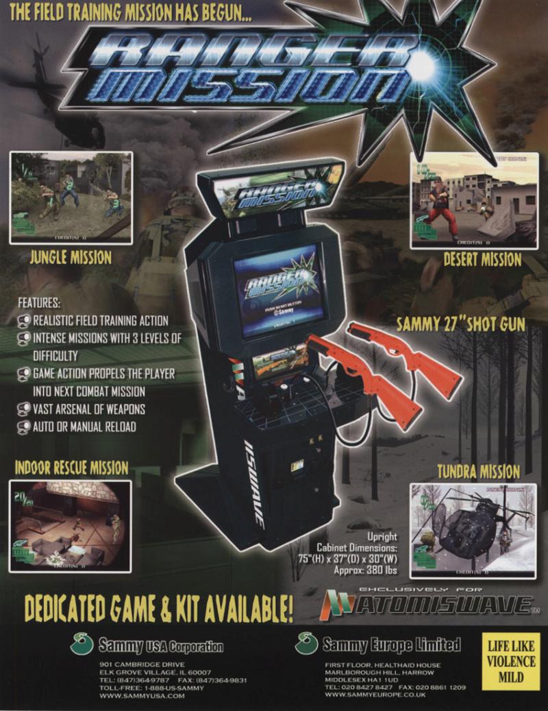 (ATW) Liste des jeux compatibles shotgun et cleargun sur Atomiswave ! 40002410