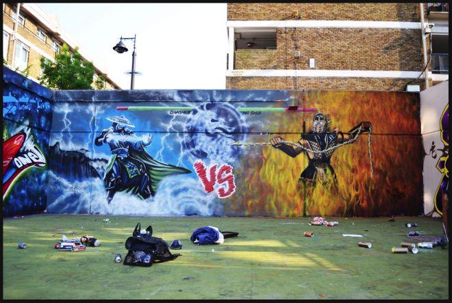le jeu video en mode street art!! 66024_10