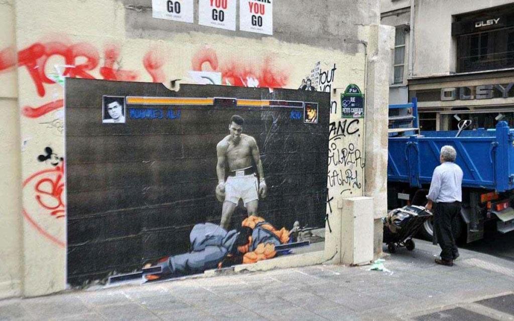 le jeu video en mode street art!! Ali-st10