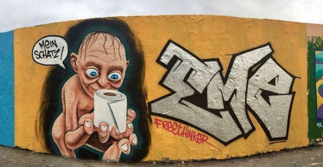 Quand le Covid inspire le Street Art... Captur10